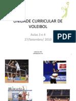 Voleibol - Aula3 e 4 -27-Set-2010