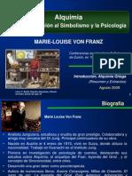 Presentacion Marie Von Franz ALQUIMIA Primeras Conf