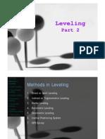 (3) Leveling Part 2