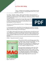 Mao Trạch Đông Tội ác Diệt Chủng