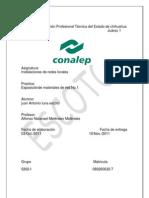 Practica # 1 Catalogo de Redes