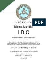 Gramatica de Ido en Español