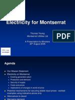 Electricity for Montserrat