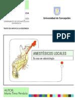 UDEC Anestesicos Locales