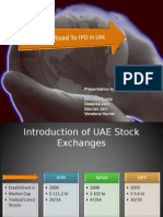 Road To IPO in UAE