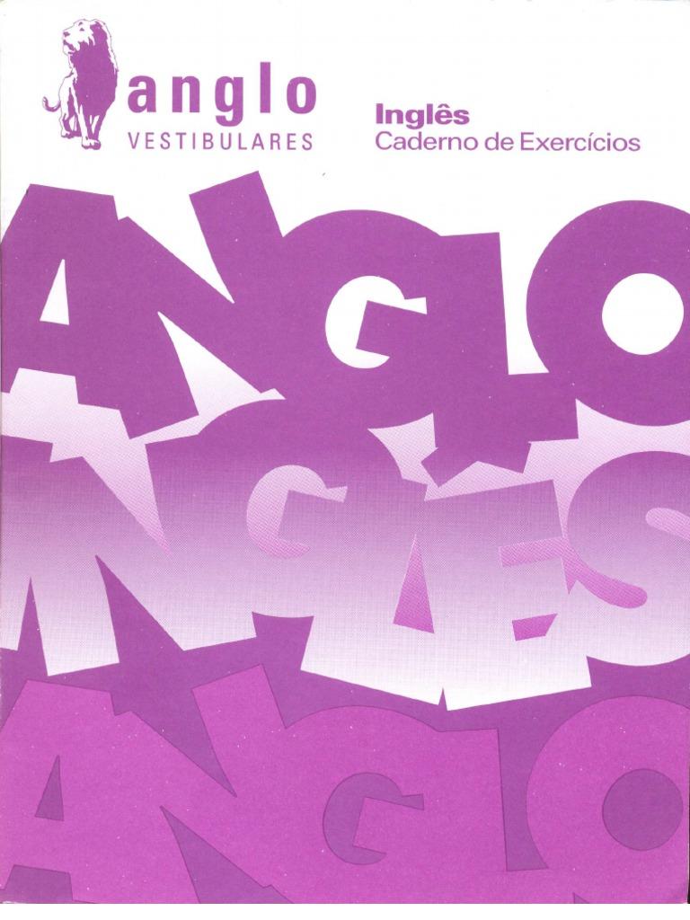 Anglo Vestibular - Exercícios de Inglês