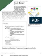Monoclonal Antibody Therapy - Wikipedia, The Free Encyclopedia