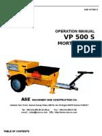VP 500 S_Manual