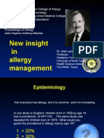 China -New Insight in Allergy Management 10-12-06