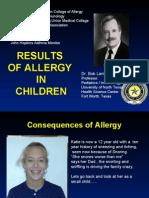 Lanier- China - Allergy in Kids October 2006 10-15-06