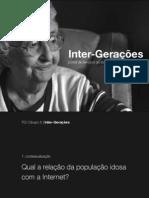 """Apresentação do projecto """"Inter-Gerações"""""""