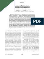 Flea-Borne Rickettsioses Ecologic Considerations