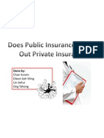 Does Public Insurance Crowd Out Private Insurance