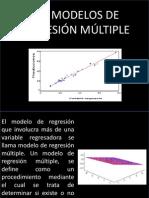 Modelos de Regresion Multiple