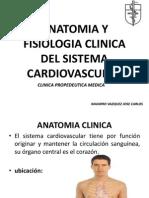 Anatomia y Fisiologia Clinica Del Sistema Cardiovascular