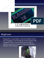Blogging is Learning 27267