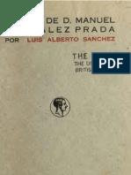 Elogio de D. Manuel González Prada por Luis Alberto Sánchez