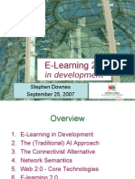 Elearning 20 in Development