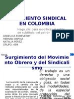Movimiento Sindical en Colombia