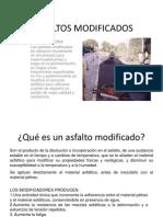 ASFALTOS MODIFICADOS