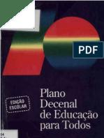 Plano Decenal 1993-2003 MEC