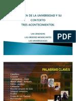 El Origen de La Universidad -PowerPoint