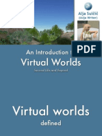 Virtual Worlds Introduction Second Life and Beyond