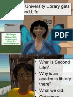 Murdoch University Gets a Second Life