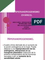 HIPERANDROGENISMO OVARICO