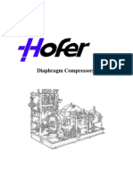 Diaphragm H2 Compressor