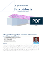 Efficacy of Homoeopathy in Treatment of Sarcoidosis