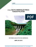 Informe Ejecutivo Hidrotoapi Abril_2010