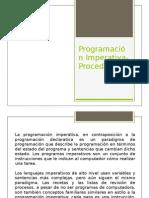 Programación Imperativa-Procedural
