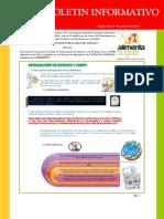 Boletin informativo Vol 3 Nº 25 _(junio 21-2011_)