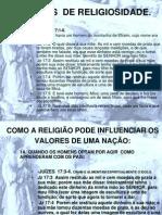 ESPIRÍTOS  DE RELIGIOSIDADE