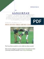 Jerry Sandusky's Method - Penn State Child Abuse