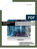 VIRTUALIZACION DE BASE DE DATOS