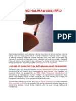 Tatak ng Halimaw (RFID Microchip)