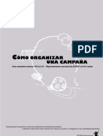 Como Organizar Una Campaña