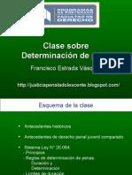 Clase Sobre Determinacin de La Pena en Responsabilidad Penal Adolescente Francisco 3074