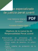 Justicia Penal Juvenil Senador Viera Gallo 14294