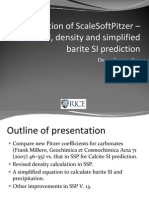 5. Validation of ScaleSoftPitzer – Calcite SI, density pdf