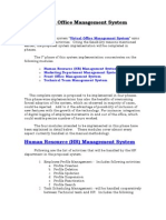 Virtual Office Mangmnt