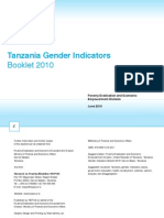 Tanzania Gender Indicators Booklet 2010