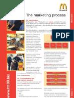 Mcdonalds Marketing Process