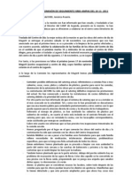Información Comisión Seguimiento SRBS-AMPAS 10-11-11