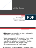 ISM White Space