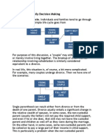 Families and Family Decision Making