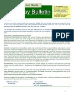 HS Friday Bulletin 11-11