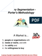 GABS Industry Segmentation Porter's Methodology Jan 1010